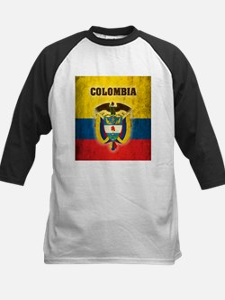 Vintage Colombia Kids Baseball Jersey