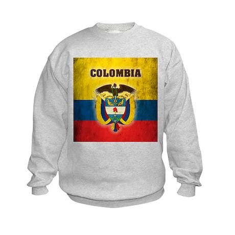 Vintage Colombia Kids Sweatshirt