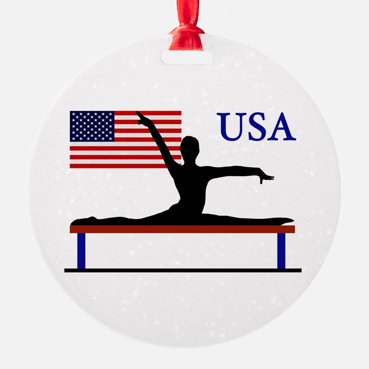 USA Gymnastics Ornament
