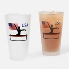 USA Gymnastics Drinking Glass