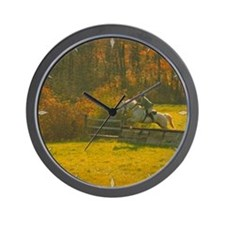 Wall Clock The Fox Hunt, jump number one