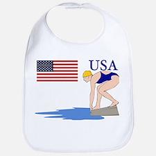 USA Swimming Bib