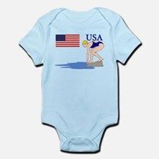 USA Swimming Infant Bodysuit