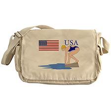 USA Swimming Messenger Bag