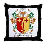 O'Branagan Coat of Arms Throw Pillow