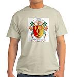 O'Branagan Coat of Arms Ash Grey T-Shirt