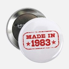 "Made In 1983 2.25"" Button"