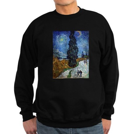 vincent van gogh Sweatshirt (dark)