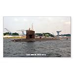 USS DRUM Sticker (Rectangle)
