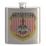 USS DRUM Flask