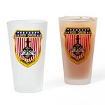 USS DRUM Drinking Glass