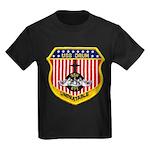 USS DRUM Kids Dark T-Shirt