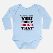 Obama Attacks Business Long Sleeve Infant Bodysuit
