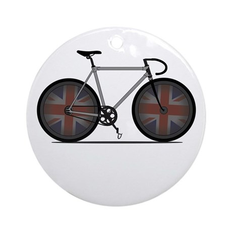 British Cycling is Brilliant Ornament (Round)