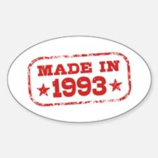 Made In 1993 Decal