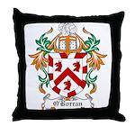 O'Borran Coat of Arms Throw Pillow