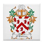 O'Borran Coat of Arms Tile Coaster