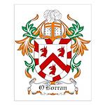 O'Borran Coat of Arms Small Poster