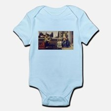 leonardo da vinci Infant Bodysuit