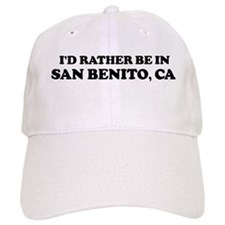 Rather: SAN BENITO Baseball Cap