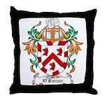 O'Boran Coat of Arms Throw Pillow
