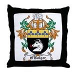 O'Bolger Coat of Arms Throw Pillow