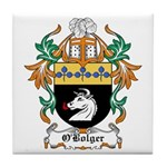 O'Bolger Coat of Arms Tile Coaster