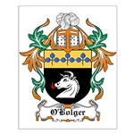 O'Bolger Coat of Arms Small Poster