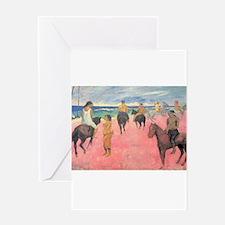 paul gauguin Greeting Card