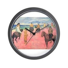 paul gauguin Wall Clock