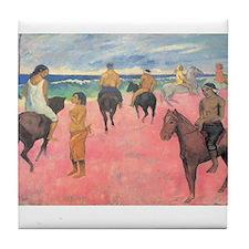 paul gauguin Tile Coaster