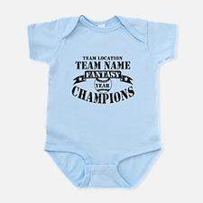 FBB CHAMPS BLK Infant Bodysuit