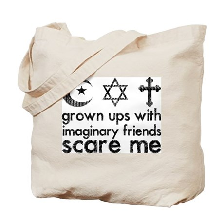 Imaginary Friends Tote Bag
