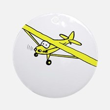 Yellow Cub Ornament (Round)