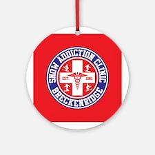 Breckenridge Snow Addiction Clinic Ornament (Round
