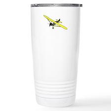 Black and Yellow Cub Travel Mug