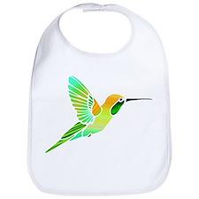 Lemon Lime Sorbet Hummingbird Bib