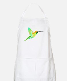 Lemon Lime Sorbet Hummingbird Apron
