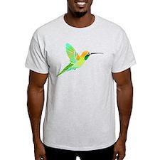 Lemon Lime Sorbet Hummingbird T-Shirt
