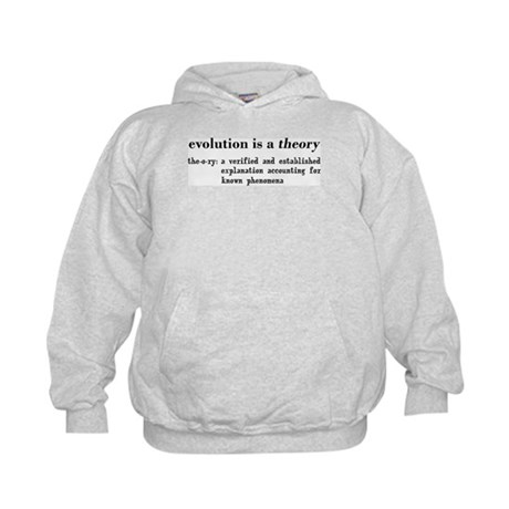 Evolution Definition of Theory Kids Hoodie