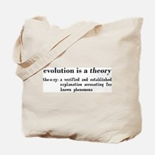 Evolution Definition of Theory Tote Bag