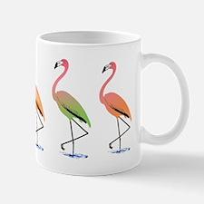 March of the Tropical Flamingos Mug