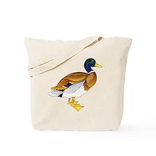 Merry Mallard Tote Bag