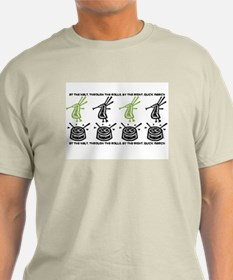 By The Right Quick March Men's/Unisex Bagpiper T