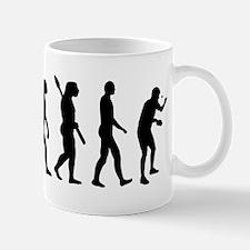 Table tennis evolution Mug