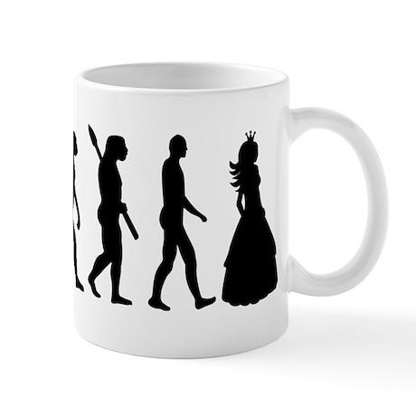 Princess evolution Mug