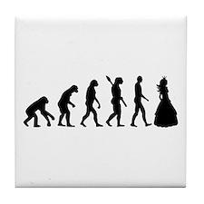 Princess evolution Tile Coaster