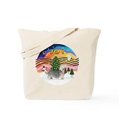 XMusic2 - Dandi Dinmont (slv) Tote Bag