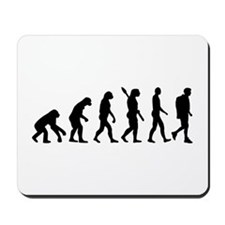 Hiking evolution Mousepad