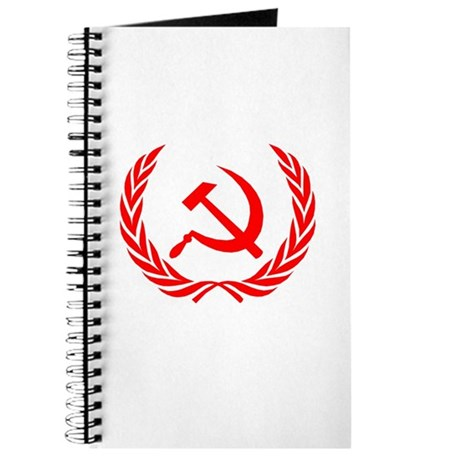 Soviet Wreath Red Journal